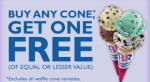 buy one get one free ad