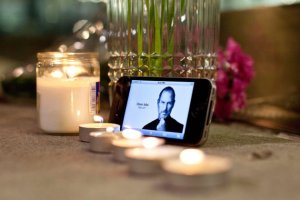 mourning steve jobs