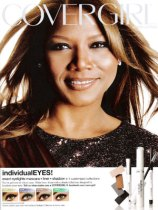 Queen Latifah Cover Girl ad