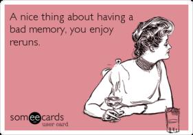 reruns bad memory
