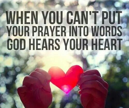 prayer God heart