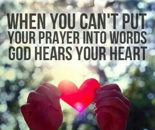 prayer God heart