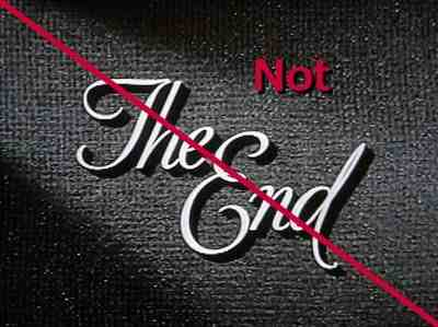 The End...not