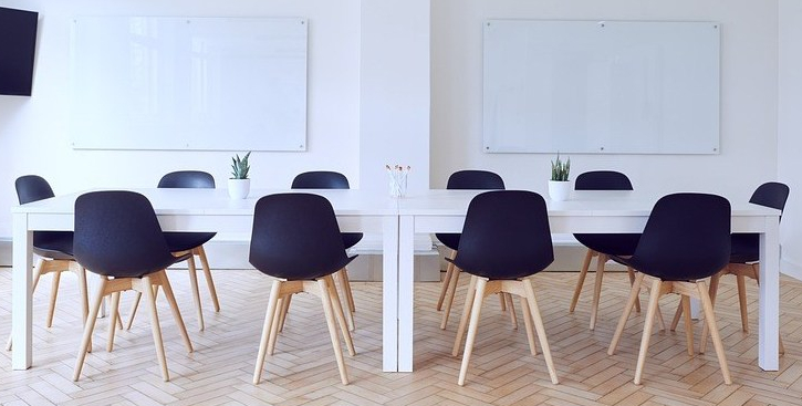 conference room, board room, conference table